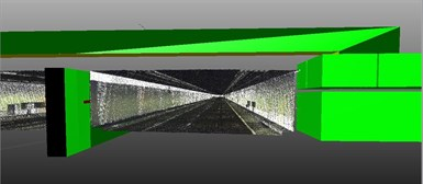 3D model-scan Craeybeckxtunnel